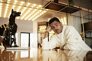 Portrait of the football player Serge Gnabry by Christian Kaufmann
